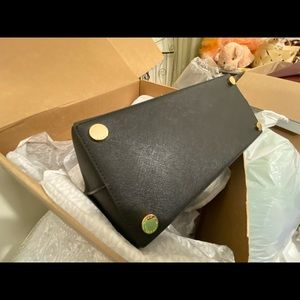 Michael Kors Bags - NWT Michael Kors Large black Rochelle and wallet